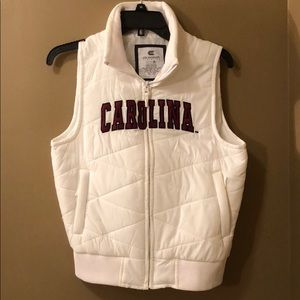 Jackets & Blazers - Carolina Gamecock puffer vest